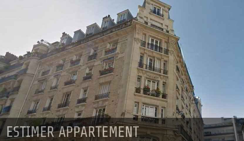 estimation valeur appartement